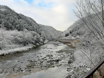 武田尾駅付近